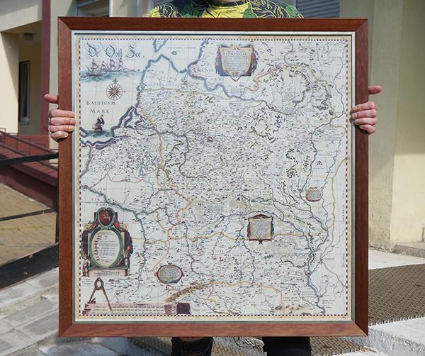 Радзівілаўская мапа